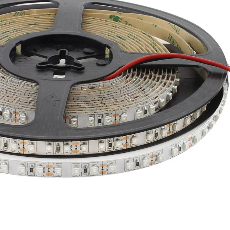 Tira LED UV Ultravioleta SMD3528, DC12V, 5m (120 Led/m) - IP20, Ultravioleta